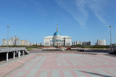 Area in the center of Astana Royalty Free Stock Photography