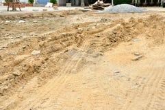 Area che prepara per la costruzione Fotografia Stock Libera da Diritti