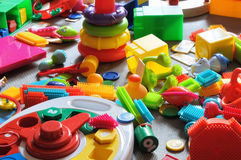 Area children's toys Royalty Free Stock Photo