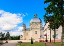The area of the church of the Holy Trinity. Liskiava. Lithuania Stock Photography