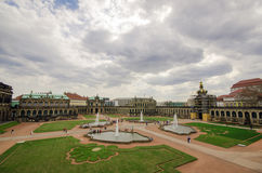Area in the city of Dresden Stock Photography