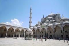 Area con la gente nel Hagia Sophia Fotografie Stock