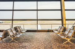 The area of concourse Stock Photography
