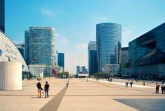 Area Défense in Paris. Stock Image