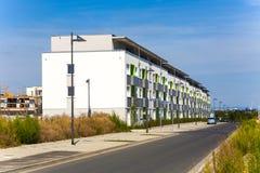 Area degli alloggi nuovi in bello Fotografie Stock