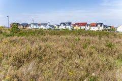 Area degli alloggi nuovi in bello Immagine Stock