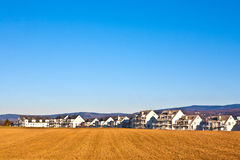 Area degli alloggi nuovi per le famiglie Immagine Stock Libera da Diritti