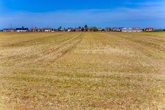 Area degli alloggi nuovi in ruralty Immagini Stock Libere da Diritti