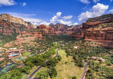 Area del canyon di Boynton in Sedona, Arizona, U.S.A. immagine stock libera da diritti