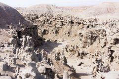 Area del canyon di fantasia nell'Utah Immagini Stock Libere da Diritti