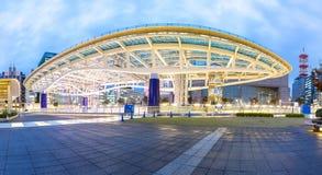 Area del parco pubblico dell'oasi 21 di Nagoya Fotografia Stock Libera da Diritti