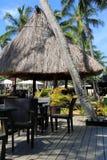 Area del Poolside, località di soggiorno di isola di Westin Denarau e stazione termale, Figi, 2015 Fotografia Stock