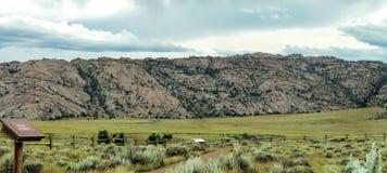 Area del portone del ` s del diavolo, Wyoming Fotografia Stock Libera da Diritti