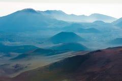 Area del vulcano fotografia stock libera da diritti