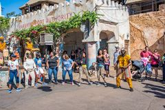 Area dell'Africa al regno animale a Walt Disney World Immagini Stock