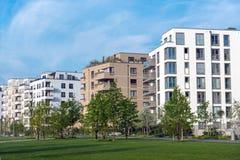 Area dell'alloggio veduta a Berlino, Germania Immagine Stock Libera da Diritti