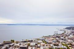 Area della baia di Seattle Fotografia Stock