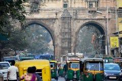 Area della città di Ahmedabad immagini stock libere da diritti