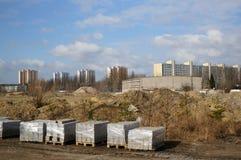 Area della costruzione Fotografia Stock