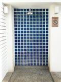 Area della doccia della piscina Fotografie Stock Libere da Diritti