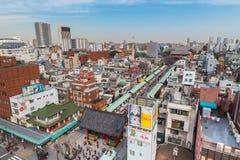 Area di Asakusa Fotografie Stock