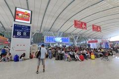 Area di B della stazione ferroviaria del nord di Shenzhen Fotografia Stock Libera da Diritti
