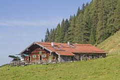 Area di Baumoosalm im Sudelfeld in Baviera Fotografie Stock