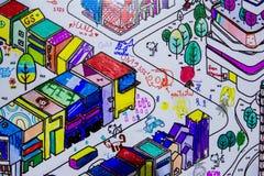 Area di disegno per i pittori dilettanti immagine stock libera da diritti
