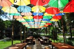 Area di disposizione dei posti a sedere di Cebu del parco dell'IT Fotografia Stock Libera da Diritti