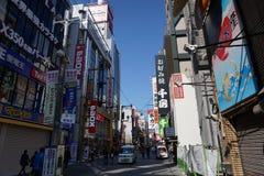 Area di Dotonbori, Osaka, Giappone Immagini Stock