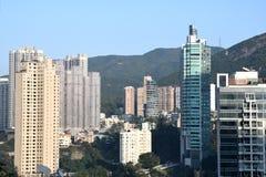 Area di Hong Kong Mid Levels Residential fotografie stock libere da diritti