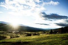 Area di Lesja in Norvegia Immagini Stock