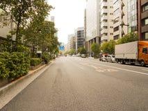 Area di Nihombashi a Tokyo Immagine Stock