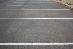 Area di parcheggio vuota Fotografia Stock
