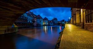 Area di Petite France a Strasburgo immagini stock libere da diritti