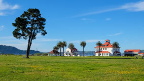 Area di picnic di Crissy Field Immagine Stock