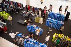 Area di promozione nel festival centrale Chiang Mai Fotografia Stock