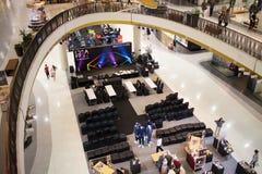 Area di promozione nel festival centrale Chiang Mai Fotografie Stock