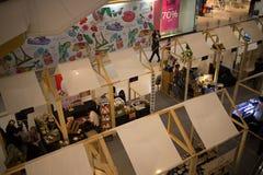 Area di promozione nel festival centrale Chiang Mai Fotografie Stock Libere da Diritti