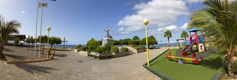 Area di ricreazione della città praia Fotografia Stock