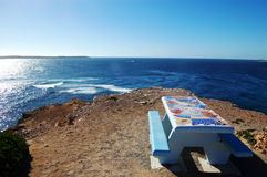 Area di riposo al litorale Immagine Stock Libera da Diritti