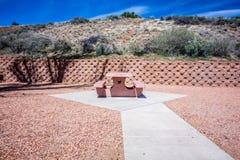 Area di riposo dello stato dell'Arizona Fotografia Stock Libera da Diritti