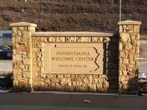 Area di riposo di Pennslvania Fotografia Stock