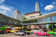 Area in front Central World. Bangkok City Stock Images