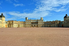 The area in front of the palace in Gatchina. Stock Images