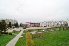 Area in Galich. In cloudy day in Russia Royalty Free Stock Image