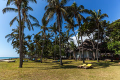 Area hotel,a hotel with a large territory,Hotel Mambasa territory,hotel with green territory,ph Royalty Free Stock Photography
