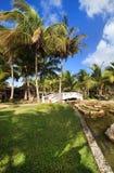 Area of hotel Melia Cayo Guillermo. Cuba stock photography