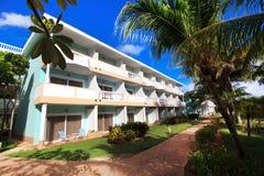 Area of hotel Melia Cayo Guillermo. Cuba stock photos