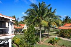 Area of hotel Sol Cayo Guillermo. Cuba stock photos